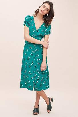 Sessun Upala Floral-Print Midi Dress