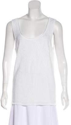 Armani Collezioni Sleeveless Knit Top