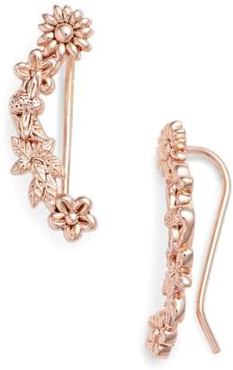 Olivia Burton Bee Blooms Crawler Earrings