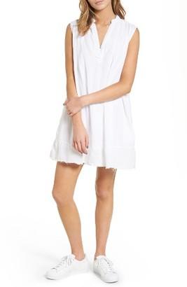 Women's Current/elliott The Sleeveless Tuck Dress $258 thestylecure.com