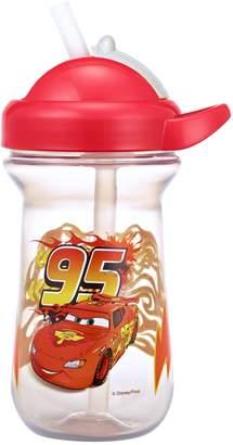 Disney Pixar Cars Lightning McQueen Flip-Top Straw Cup