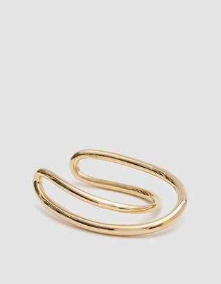 Charlotte Chesnais Initial Gold Bracelet