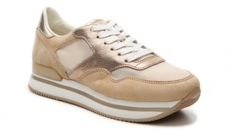 Final Sale - Hogan Platform Lace-Up Sneaker $445 thestylecure.com