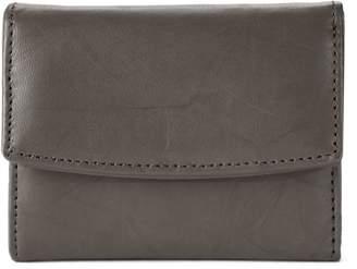 Apt. 9 Sandalwood Leather RFID-Blocking Mini Trifold Wallet