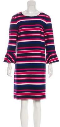 Draper James Striped Mini Dress