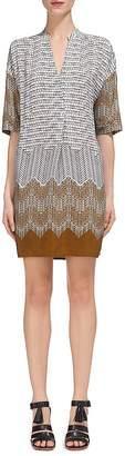Whistles Luna Aztec Print Dress $239 thestylecure.com