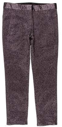 Alexander Wang Mid-Rise Metallic-Accented Pants w/ Tags