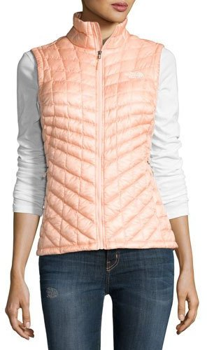 The North FaceThe North Face ThermoBallTM All-Weather Quilted Vest, Tropical Peach