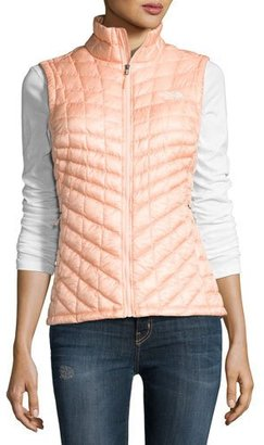 The North Face ThermoBallTM All-Weather Quilted Vest, Tropical Peach $149 thestylecure.com