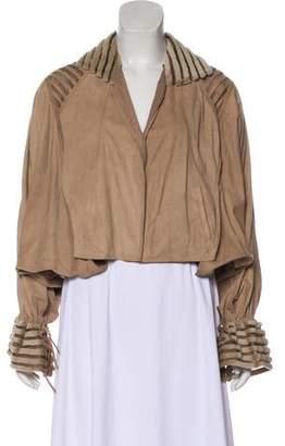 Fendi Silk Textured Jacket
