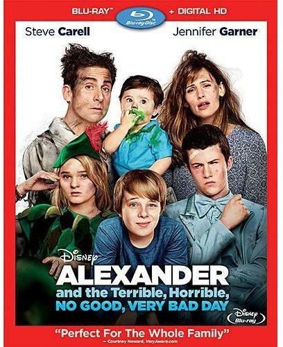 """Disney """"Alexander and The Terrible Horrible No Good Very Bad Day"""" DVD"""