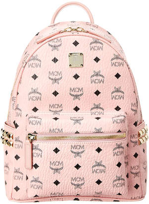 MCM Stark Small Studded Visetos Backpack