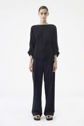 3.1 Phillip Lim Ruched-Sleeve Pullover