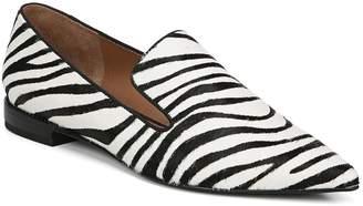 Franco Sarto Topaz Genuine Calf Hair Pointy Toe Loafer
