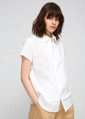 Yohji Yamamoto Y's by Short Sleeve Double Layer Blouse