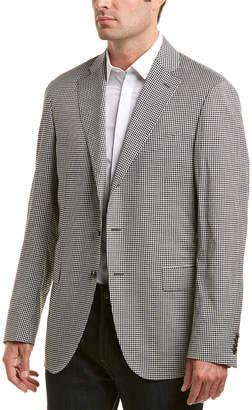 Caruso Tailored Wool & Silk Jacket