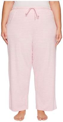 Nautica Plus Size Striped Pants Women's Pajama