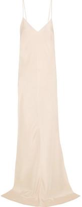Juan Carlos Obando - Silk-crepe Gown - Ivory $2,195 thestylecure.com