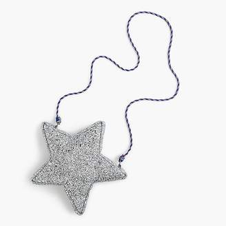 J.Crew Girls' glitter star bag