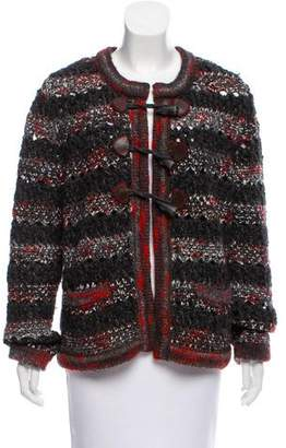 Chanel Wool and Cashmere-Blend Cardigan