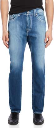 True Religion Burning Phoenix Skinny Flap Pocket Jeans