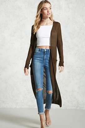 FOREVER 21+ Side-Slit Duster Cardigan $17.90 thestylecure.com