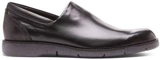 Donald J Pliner EDELL2, Nappa Stretch and Burnished Calf Leather Loafer