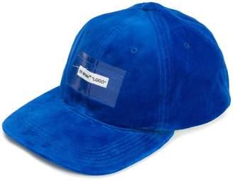 Off-White printed logo cap