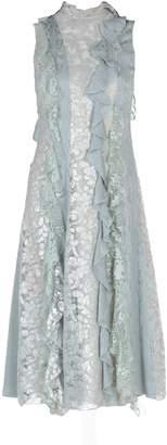 Lanvin 3/4 length dresses