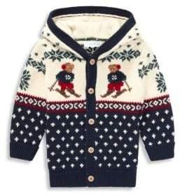 Ralph Lauren Baby Boy's Hooded Cardigan