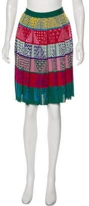 Mary Katrantzou Printed Knee-Length Skirt