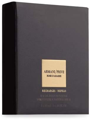 Giorgio Armani Prive Rose Darabie Eau De Parfum Vaporisateur Natural Spray Refill Bottles