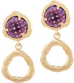 Peter Thomas Roth 18K Gold Fantasies GemstoneDrop Earrings