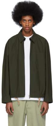 Acne Studios Green Okir Jacket