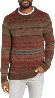 Faherty Wool & Alpaca Blend Crewneck Sweater
