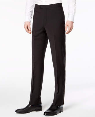 Calvin Klein Men's Slim-Fit Infinite Stretch Black Tuxedo Suit Pants