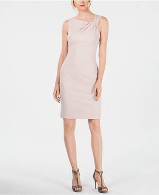 357166545f Jessica Howard Sparkle Textured Sheath Dress