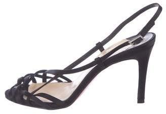 8507fd459439 Christian Louboutin Black Ankle Strap Women s Sandals - ShopStyle