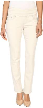 Jag Jeans Petite Petite Peri Pull On Straight Twill Pants Women's Casual Pants