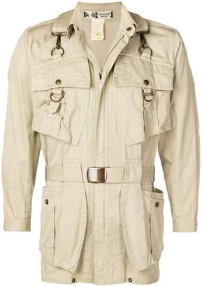 Kansai Yamamoto Pre-Owned 1980's belted safari jacket