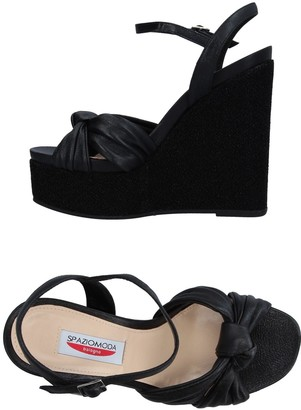 SPAZIOMODA Sandals - Item 11342659BK