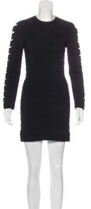 Balmain Bodycon Cutout Dress