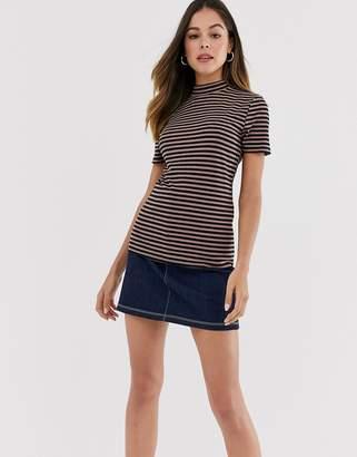 JDY short sleeve stripe t-shirt