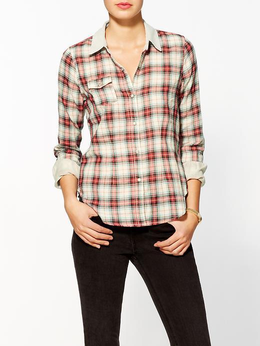 Joe's Jeans Dandy Top w/ Agave Denim Shirt