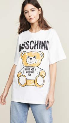 Moschino Bear Oversized T-Shirt