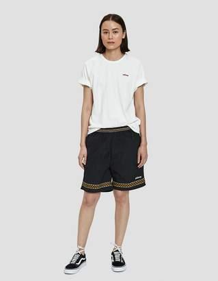 Stussy Storm Soccer Short in Black