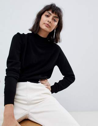 Asos 100% cashmere sweater with turtleneck