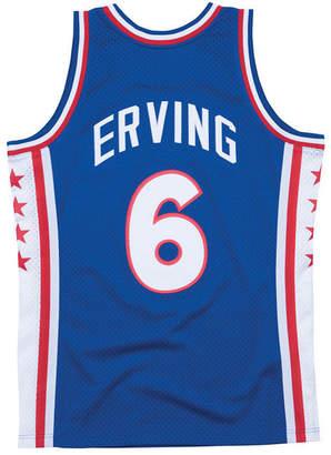 Mitchell & Ness Men Julius Erving Philadelphia 76ers Hardwood Classic Swingman Jersey
