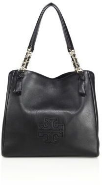 Tory Burch Harper Leather Tote $495 thestylecure.com
