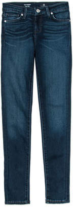 AG Jeans Twiggy Imperial Blue Jetsetter Straight-Leg Denim Jeans, Size 7-14